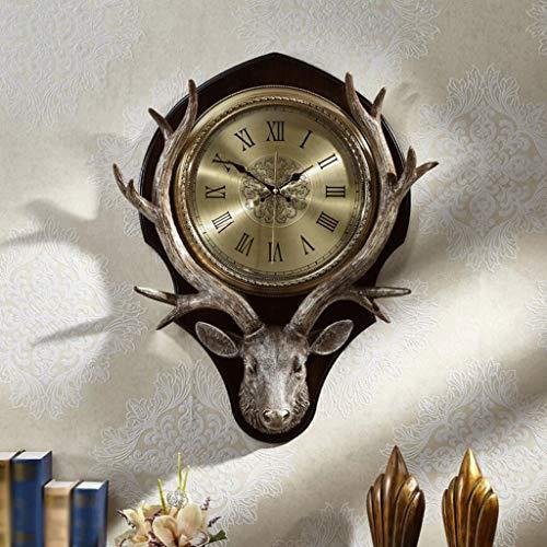 Gaoli orologio da parete salotto creativo deer head camera mute quartz clock -