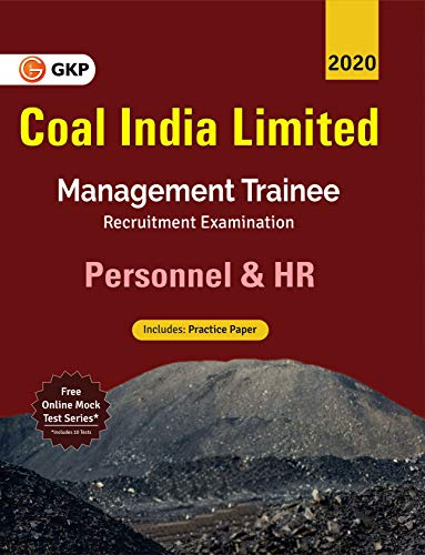Coal India Ltd. 2019-20: Management Trainee - Personnel & HR