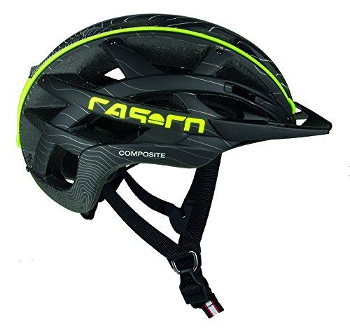 Casco Erwachsene Cuda Mountain Fahrradhelm, Black-Neon, M
