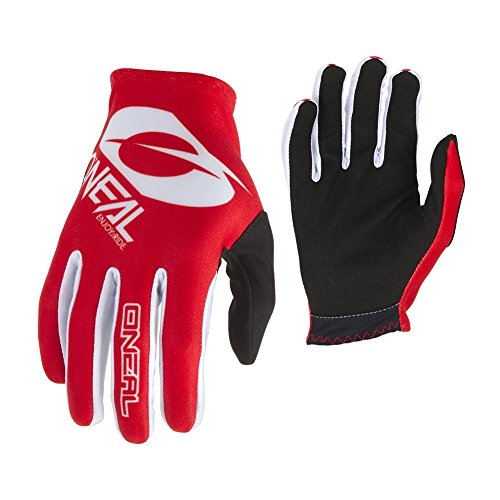 O'Neal Matrix Fahrrad Handschuhe Icon MTB DH BMX MX FR All Mountain Bike Enduro Freeride Downhill, 0388-I, Farbe Rot, Größe M