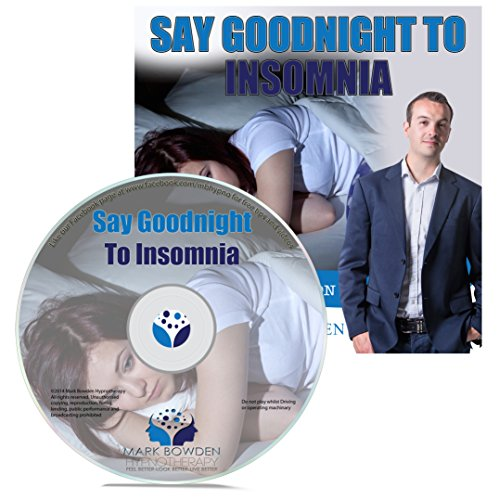 Price comparison product image Say Goodnight to Insomnia Self Hypnosis, Hypnotherapy Sleep Meditation CD
