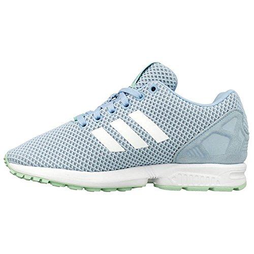 adidas Damen ZX Flux Sneaker mehrfarbig (Clesky/Ftwwht/Frogrn)