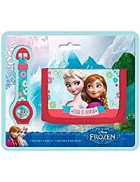 Blister reloj billetera Frozen Disney