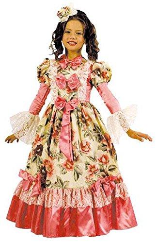 Kinder Kostüm roccoco vert- Rosa ass 164, 14/16 Jahre (Kostüme Enfant Fille Princesse Rose)