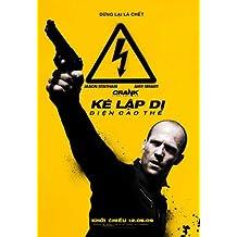 Crank 2: Alto Voltaje Póster de película vietnamitas 11x 17en–28cm x 44cm Jason Statham Amy Smart Bai Ling Corey Haim