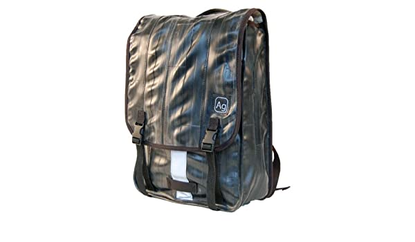 NWT Alchemy Goods Haversack Shoulder Messenger Bag Recycled Bicycle Inner Tube