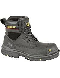 Caterpillar–Hombre Caterpillar 'Grava S3' 15,2cm de la Industria Botas de seguridad