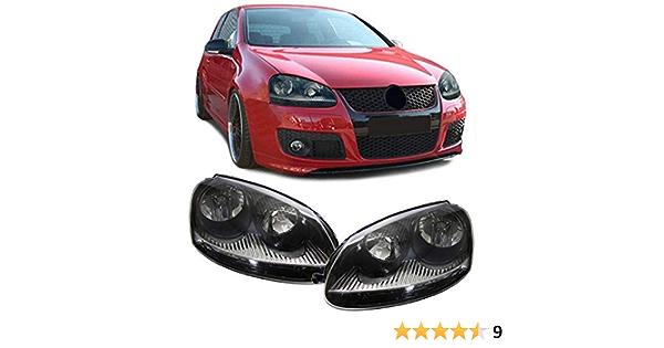 Carparts Online Gmbh 10756 Schwarze Scheinwerfer Set Sport Ausführung Auto