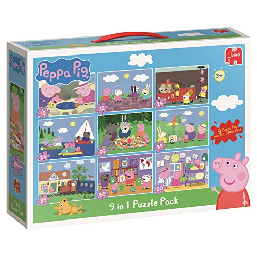 Peppa Pig 9in1 Puzzle Pack - puzzles (Traditional, Cartoons, Preschool, Peppa Pig,...