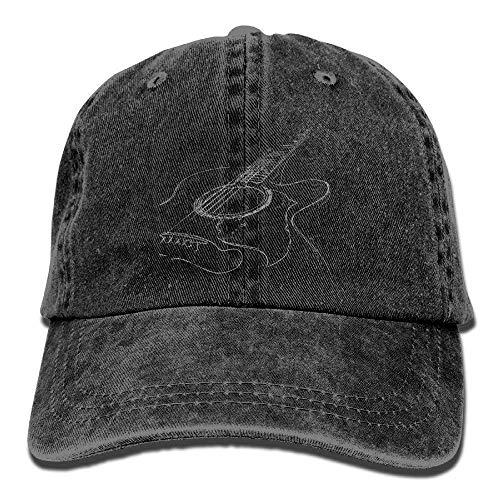Hipiyoled Acoustic Guitar Baseball Hat Men and Women Summer Sun Hat Travel Sunscreen Cap Fishing Outdrs 5Z777 (Man Utd Hat)