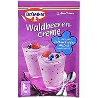 Dr. Oetker Waldbeerencreme Dessert, 12er Pack (12 x 56 g)