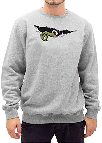 Monster Hand Sweater Grey Certified (Tumblr Dämon Kostüm)