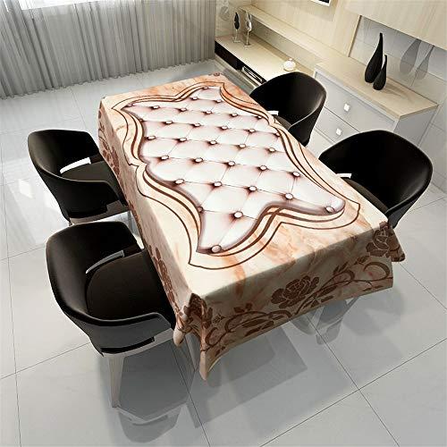 QWEASDZX TischdeckeTischdecke Rechteckig Baumwolle PolyesterTischdeckeGeschirrWasserdichtHitzebeständigTischdecke Picknick Geeignet für Innen und Außen 150x150cm (Marvel Couchtisch)