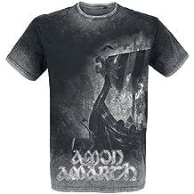Amon Amarth One Thousand Burning Arrows T-Shirt charcoal