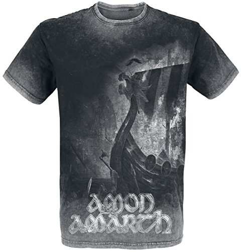 Amon Amarth One Thousand Burning Arrows T-Shirt carbone L