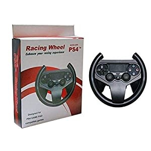 SM-PC® PS4 Playstation 4 Lenkrad Racing Wheel für Dualshock Controller #032