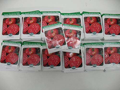760 (380) Samen-Paket Tomate Brandy Rosa der Standard der Heirloom quity by Farmerly