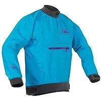 Palm Kayak or Kayaking - Vector Womens Kayak Coat Jacket Coat Aqua - Lightweight. Waterproof & Breathable