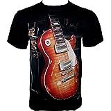 Rock Chang T-Shirt * Gibson Guitar * Les Paul * Gitarre * Schwarz R711