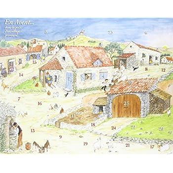 Calendrier de l'Avent - en Avent ... Dans la Paix d'un Village Provencal