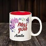 Huppme I Miss You Asmita Inner Red Mug