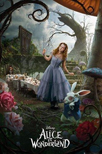 1art1 49038 Poster Alice in Wonderland 91x61 cm