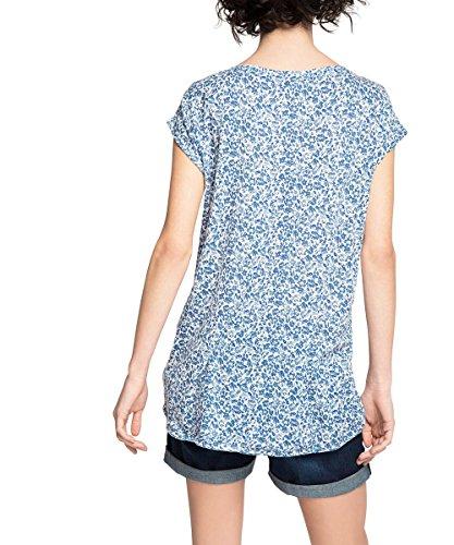 ESPRIT Damen T-Shirt Blau (BLUE 430)