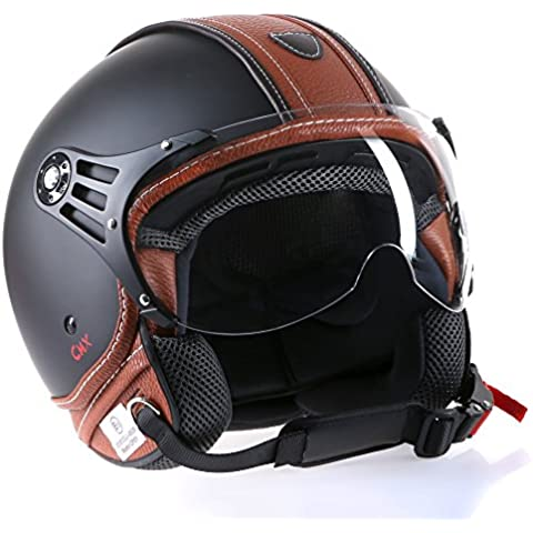 Casco de Moto Jet Roller CMX Hazel