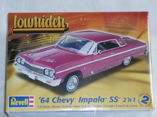 Revell Chevrolet Chevy Impala 2 in 1 1964 Ss Coupe 85-2574 Bausatz Kit 1/24 1/24 Usa Modellauto Modell Auto (Chevy-kits Modell)