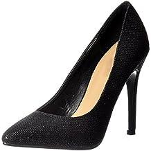 Partido De Onlineshoe Mujeres Mediados del Talón Acentuado del Dedo del Pie Brillo  Corte Zapatos Bombas 0f4dc730a04e