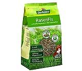 Dehner Rasenfix zur Rasenreparatur, 5 in 1 Komplettlösung, 1.5 kg, für ca. 10 qm -
