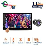 myTVS TAV-61 Double Din HD Touch Screen Car Stereo Media Player with USB/MP5/MP3