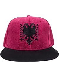Albanien Albania Snapback Cappy Caps Mütze Aufschrift Beanies Basecap Shqipëri Shqipëria