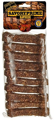 Artikelbild: Savory Prime Munchie Bone Beef Tasty Dog Chewable Pet Chew Treats 3-4in 10pk