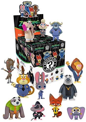 Funko - Figurine Disney Zootopia Mystery Minis - 1 boîte au hasard / one Random box - 0849803071875