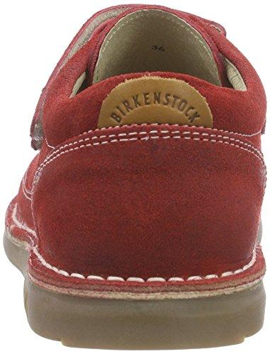Birkenstock Tyler Mädchen Derby Schnürhalbschuhe Rot (Red)