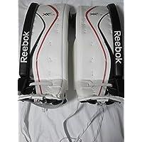 Reebok Premier XLT24 Junior Goalie Pads Monster Price, taglia:28 + 1;colore:weiß/schwarz/rot