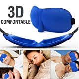 Gepolsterte Augenbinde 3D Augenmaske Soft Travel Schlaf Rest Q4U ® 3D Eye Shade Schlafmaske Abdeckung Blinder Hilfe Eyemask