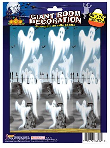 Forum novelties ghosts da sotto della goccia, multicolore, taglia unica