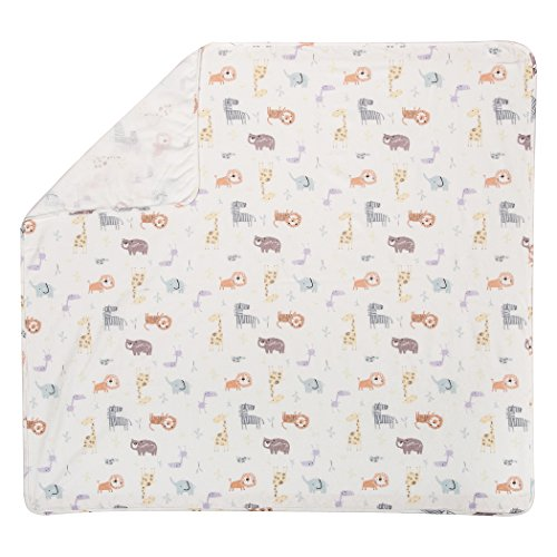 Trend Lab Crayon Jungle Deluxe Flanell Wickeldecke
