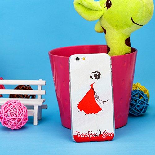 Infinite U Bijoux Charmant 3D Brillant Strass Cristal Femme Coque/Case de Protection du Téléphone Portable pour iphone 6 en 4.7 Inch 25-iphone 6/iphone 6s case