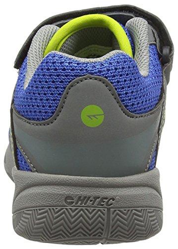 Hi-Tec Unisex-Kinder Thunder Junior Trekking-& Wanderhalbschuhe Grau (Grey/cobalt/limoncello 051) l05Ki