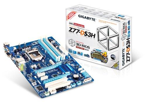 Gigabyte GBT GA-Z77-DS3H Mainboard Sockel 1155 Z77 4X DDR3 Speicher ATX -