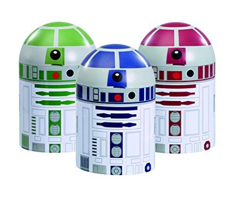 Underground Toys - Star Wars: Conjunto De Almacenaje De Cocina Droids