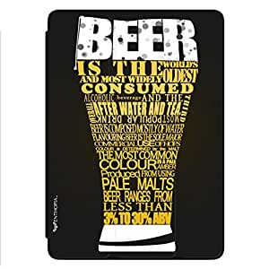Enthopia Designer Front Smart Cover Beer Love Back Cover for Ipad Air 2 with Transparent Back Case