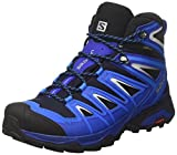 Salomon Herren X Ultra 3 Mid GTX Trekking-& Wanderstiefel, Blau (Navy Blazer/Indigo Bunting/Pearl Bl 000), 41 1/3 EU