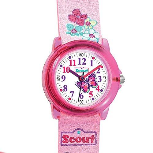 Scout Mdchen Analog Quarz Uhr mit Lederimitat Armband 280305013 - 2