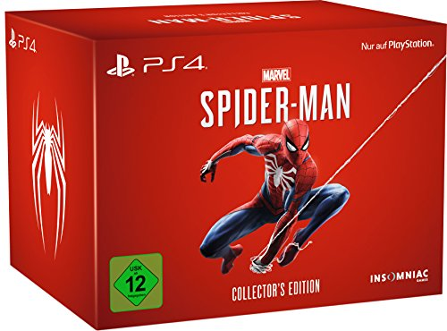 Marvel Mens Kostüm - Marvel's Spider-Man - Collector's Edition  - [PlayStation 4]
