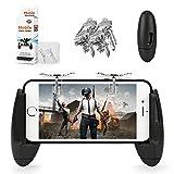 Merssyria Handyspiel-Controller, Engelsflügel, Design Mobile Game-Controller, ergonomisches Design, Griff Halterung für Android iOS