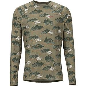Marmot Herren Lightweight Kestrel Ls Crew Unterhemd